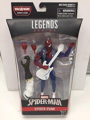 """Hasbro Marvel Legends 6"""" Figure SPIDER-PUNK Lizard BAF Wave MISB"""