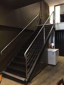 Steel/ Timber Stair case Auburn Auburn Area Preview