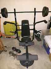 Multi station Bench press+ weight and Dumbbells. Gaythorne Brisbane North West Preview