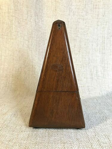 Vintage Metronome Wood   Maelzel Paquet France