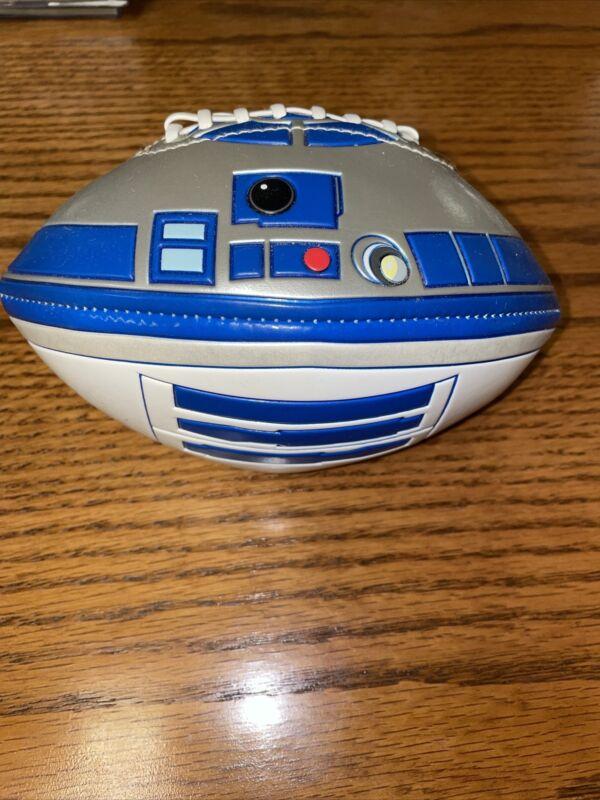 DISNEY PARKS STAR WARS MINI COLLECTOR TOY FOOTBALL R2-D2