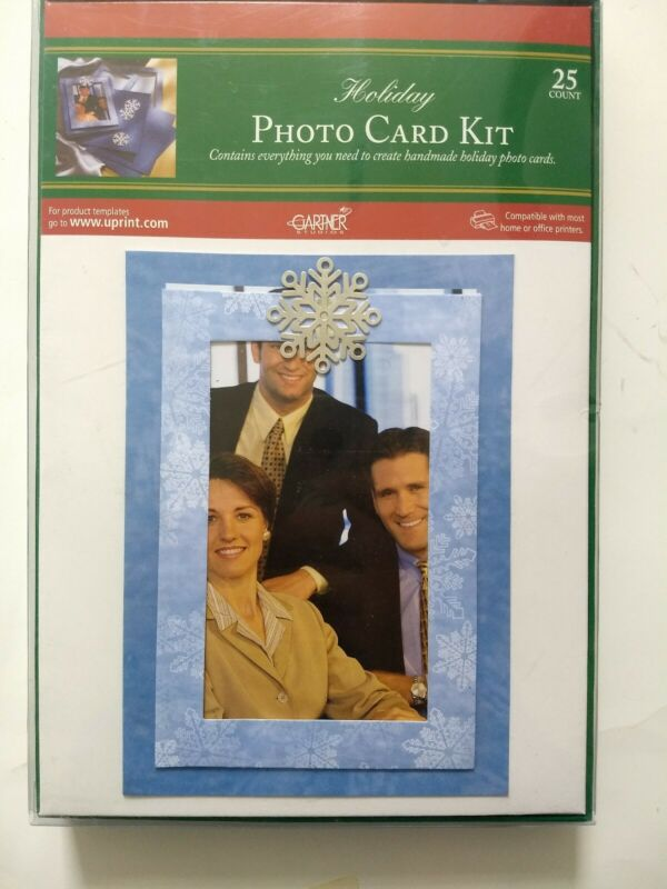 Holiday Photo (4 x 6) Card Kit (25 count)