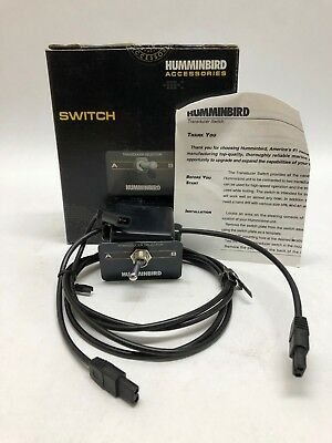 Humminbird Boat Transducer Selector Switch -Fishfinder - #SS1-6 Black