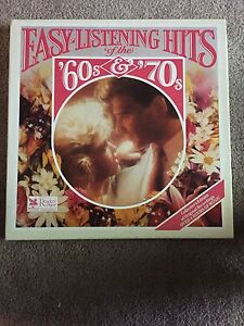 Easy listening hits of 60's and 70's- 6 record set LP vinyl