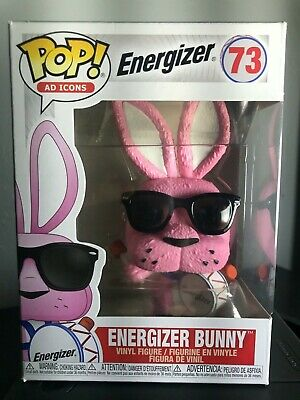 Funko POP Energizer Bunny 73 Ad Icons Pink Pop! Unopened Clean Near Mint