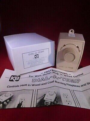 Brand New... Kb Dial-a-temp Plug In Ac Fan Motor Control