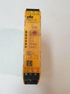 Pilz 750103 Pnoz S3 24vdc 2no Safety Relay