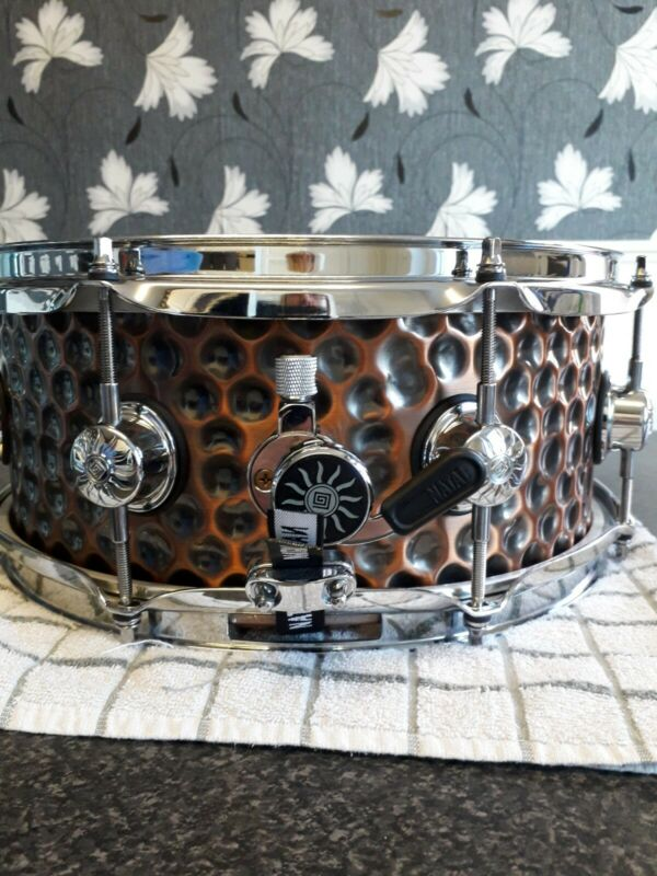 Natal 13x5.5 Hand Hammered Copper Snare