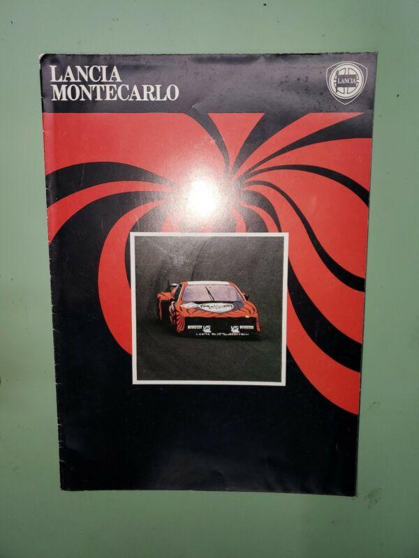 Lancia Montecarlo brochure