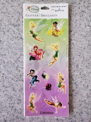 NEW Disney Glitter Tinker Bell Hallmark Stickers, Children