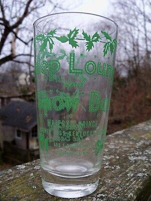 1970 Kentucky Derby Glass Julep Lounge & Show Bar ()