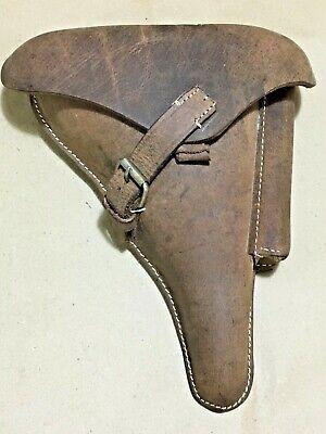 Segunda Guerra Mundial Alemán Luger P08 Carcasa Funda Aspecto Antiguo Engrasado