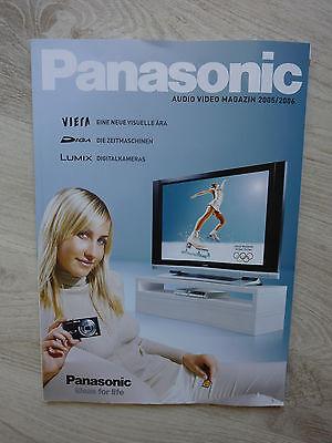 Panasonic Audio Video Magazin 2005 - 2006 Panasonic Audio-video