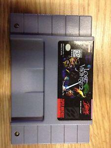 Lost Vikings 2 snes Super Nintendo rare