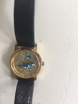 Vintage Bradley Disney Donald Duck Commemorative Birthday Watch
