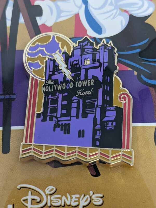 Hollywood Tower Hotel Tower Of Terror Disney Hollywood Studios Booster Pack Pin