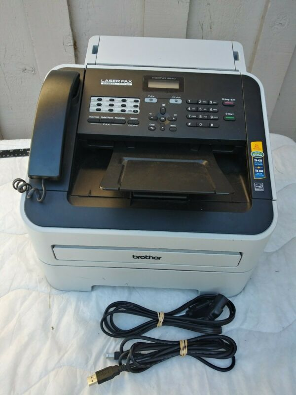 Preowned Brother IntelliFAX FAX2840 High-Speed Laser Fax Machine