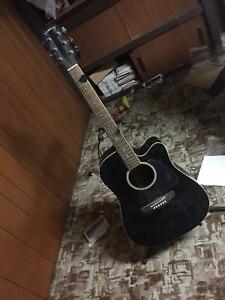 Martinez electric acoustic guitar