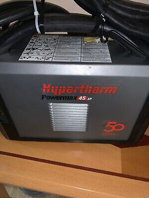 Hypertherm Powermax45 Xp Plasma Cutter 200-240v 088092 With 20ft Hand Torch