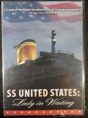 SS United States: Lady In Waiting (DVD, 2008) The Classic Ocean Liner BRAND - Lady In Waiting Movie