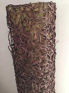 Large Floor Lamp Rustic Wicker Mansfield Brisbane South East Preview