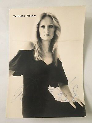 Original Autogramm Veronika Fischer - DDR Ost-Rock Amiga
