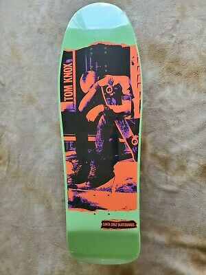 Santa Cruz Skateboards Tom Knox Dischord reissue Minor Threat Record Cover New