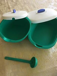 2 x Tupperware serving containers Taigum Brisbane North East Preview