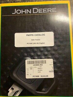John Deere 4520 Tractor Parts Catalog