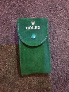 GENUINE Rolex Watch Travel Case Service Pouch with insert