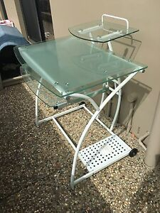 Glass top desk Helensvale Gold Coast North Preview