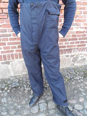 BW Bundeswehr  Nässeschutz  Hose blau Marinepersonal GORE-TEX  Gr.XXL 58/60