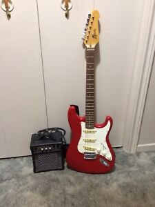 Electric Guitar and Amp 519 389 1310