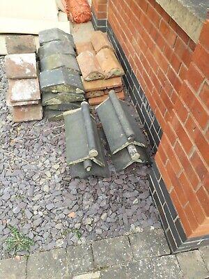 Victorian roof tiles Ridges