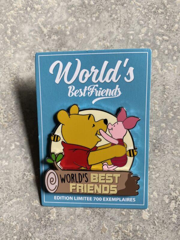 New DLRP DLP Disney Paris Winnie The Pooh Piglet Best Friends Pin LE 700 2021