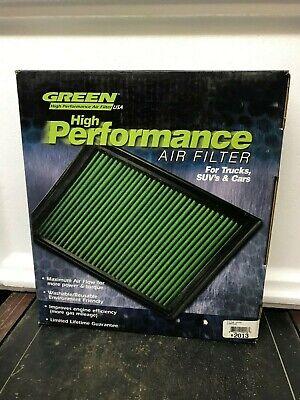 Green High Performance Air Filter #2013 Dodge Ram 1500 2500 3500 Cummings Diesel