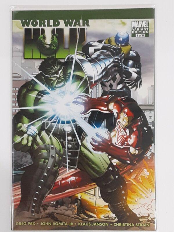 World War Hulk #1 Romita Jr variant RARE 💥 UNTOUCHED 💥2007 Marvel NEW