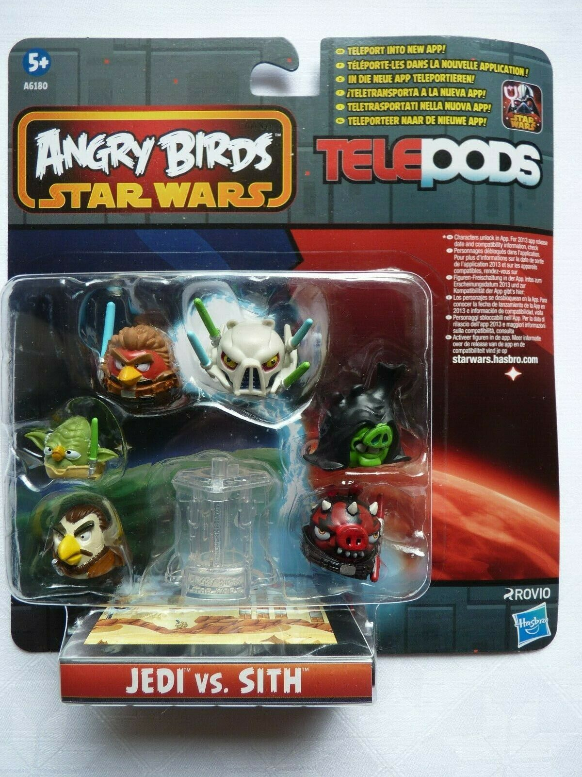 Angry Birds Star Wars Telepods  Jedi vs. Sith Hasbro