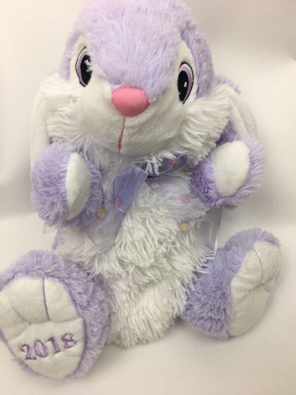 "DanDee Bunny Rabbit Plush 15"" Purple Spring Easter Spring 2018"