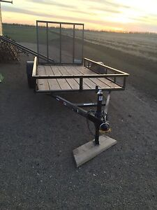 2016 deck  trailer 5X10with ramp