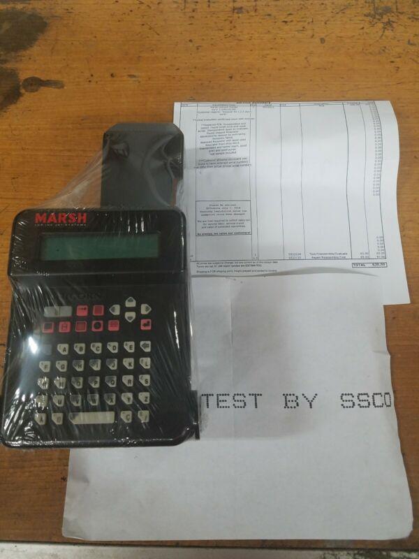 Marsh Unicorn Printer 21493, Mounting Bracket, and Power Supply