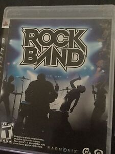 Rock band & Rock band 2 for ps3