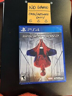 The Amazing Spider-Man 2 - Sony PlayStation 4 - PS4 NO GAME READ DESCRIPTION