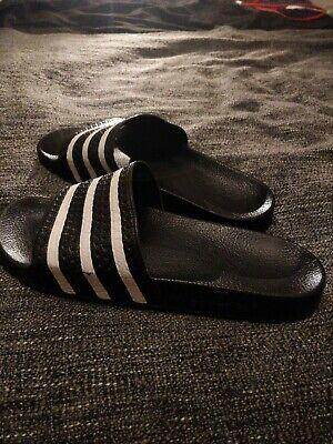 Mens Adidas Adilette sliders size 10