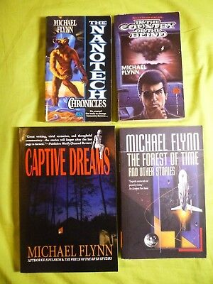 4 Michael Flynn Nanotech Chronicles Captive Dreams Country Of Blind Forest Time