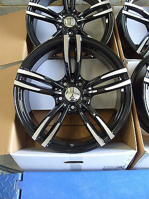 "1780 GBMF 19"" Alloy Wheels To Fit BMW 1 2 3 Series E90 F30 4 5 Series 5x120 2"