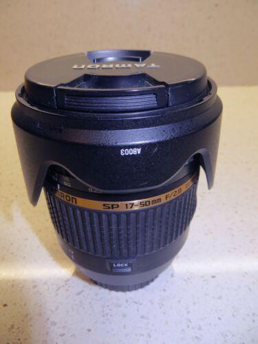 Tamron SP B005E 17-50mm f/2.8 VC IF AF Lens For Canon w/ case