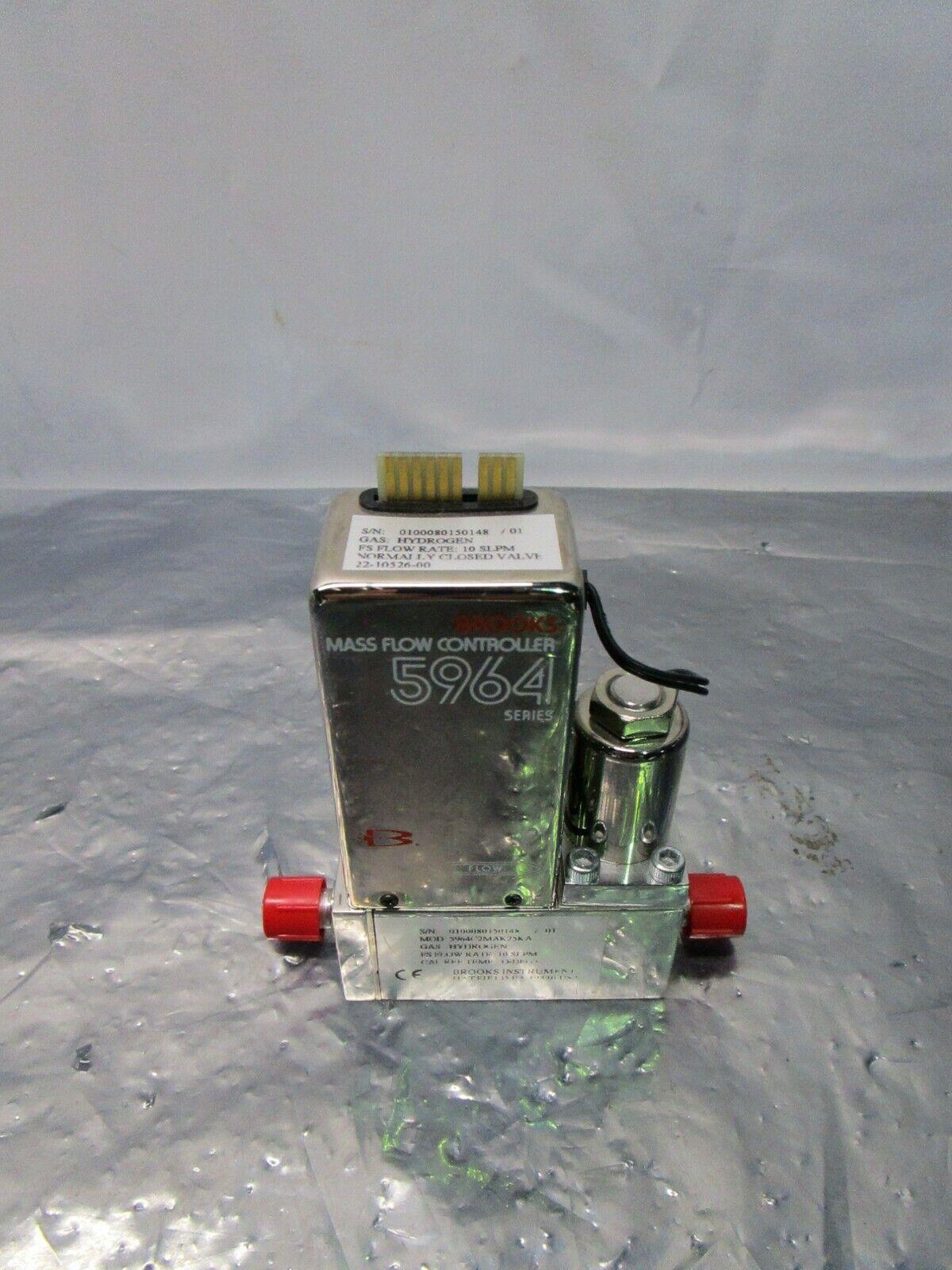 Brooks 5964C2MAK25KA Mass Flow Controller, 10 SLPM, Novellus 22-10526-0, 421680