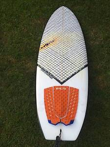 Mark Pridmore- MORE, Moregasm twinser surfboard with carbon wrap Yamba Clarence Valley Preview