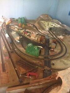 MODEL TRAIN HO LAYOUT 4.3 mtr X 1,5 mtr MUST SELL Salt Ash Port Stephens Area Preview